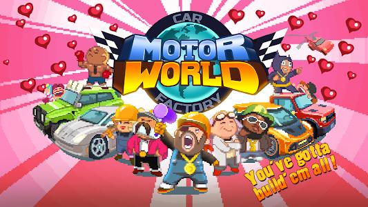 Motor World Car Factory v1.8004 (Mod)