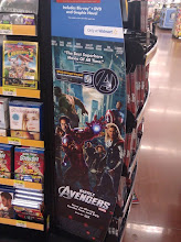 Photo: The front of the aisle display was easy to find.