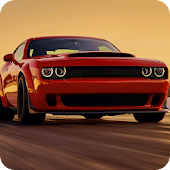 Car Driving Dodge Game in USA