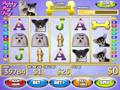 Puppy Pay Day Dog Slots PAID