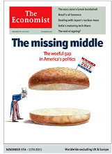 Photo: The Economist cover: US edition. November 5th 2011