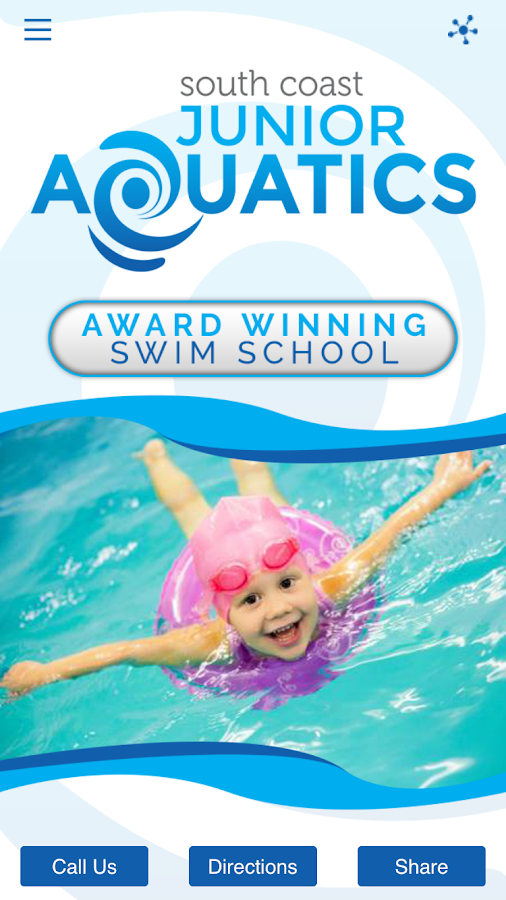 South Coast Junior Aquatics- screenshot