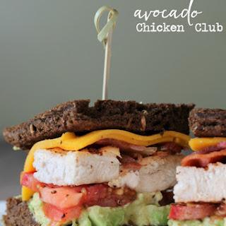Avocado Chicken Club Sandwich