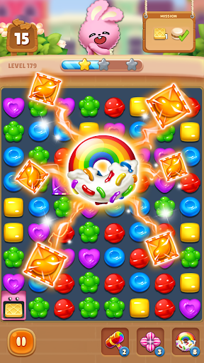 Candy Friendsu00ae : Match 3 Puzzle  screenshots 5