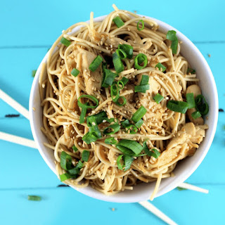Teriyaki Chicken and Noodles.