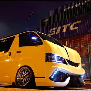 ハイエースバン TRH200V S-GL TRH200V H19年型のカスタム事例画像 DJけーちゃんだよさんの2020年10月28日21:42の投稿