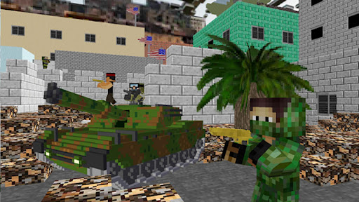 American Block Sniper Survival android2mod screenshots 7