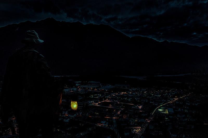La natura brilla, anche quand'è circondata dal buio di Moreno re