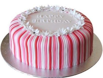 DIY Narozeninový dort - náhled