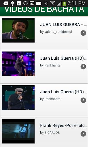 Videos de Bachata
