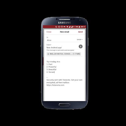 Tutanota - Free Secure Email 3.60.15 screenshots 1