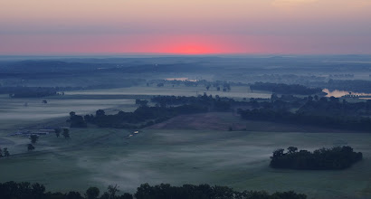 Photo: East from Petit Jean