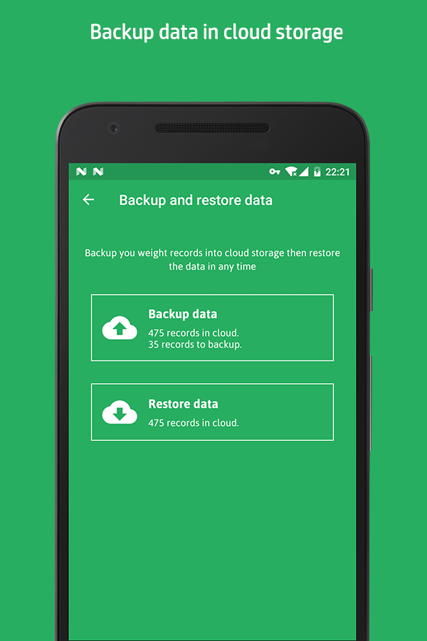 Weight Track Assistant - Free weight tracker Screenshot 7