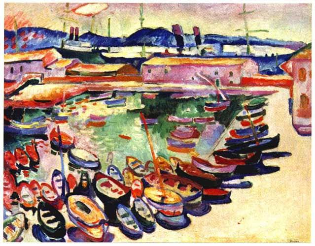 Порт Ла Сьота, Жорж Брак, 1907 г
