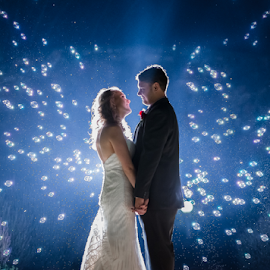 Bubbles by Lood Goosen (LWG Photo) - Wedding Bride & Groom ( wedding photography, wedding photographers, night photography, wedding day, weddings, wedding, groom and bride, bride and groom, wedding photographer, bride, groom, bride groom )
