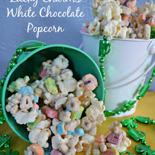Lucky Charms Popcorn with White Chocolate