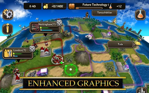 Civilization Revolution 2 MOD Apk 1.4.4 (Unlocked) 6