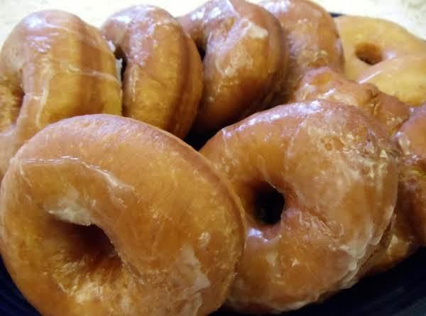 A Dozen Homemade Glazed Doughnuts