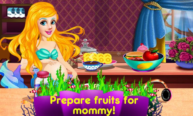 android Mermaid's Twins Baby-Preganant Screenshot 1