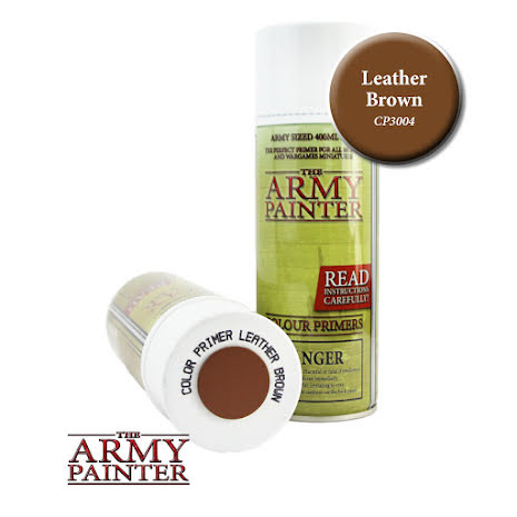 ArmyPainter Colour Primer Spray - Leather Brown