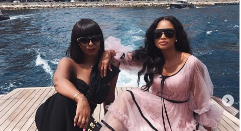 Boity and Ayanda Thabethe do the things in Monaco.