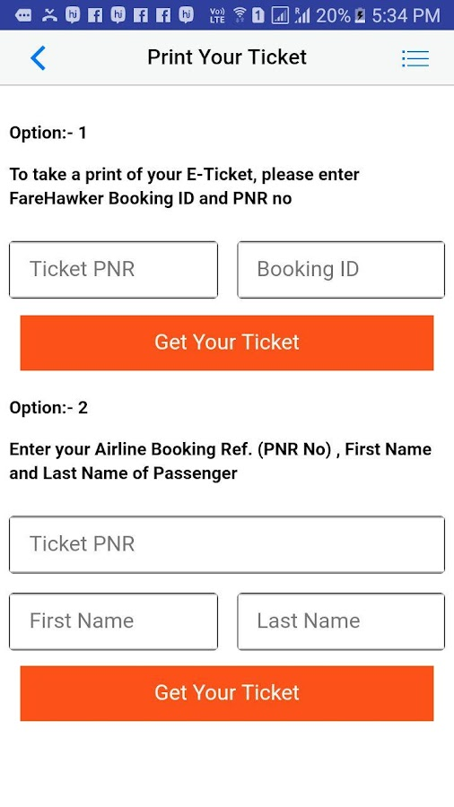 FareHawker - Flight, Private Jet, Group Booking- screenshot