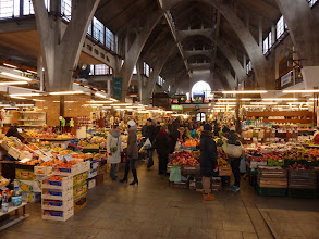 Photo: Breslau, Markthalle