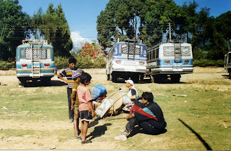 Photo: Terug naar Kathmandu.