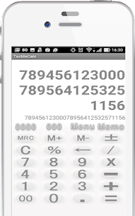 Softy Calculator Free - náhled
