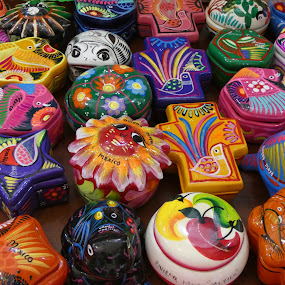 Mexican trinkets  by Judy Boyle - Artistic Objects Other Objects (  )