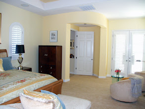 Photo: View from Entertainment center looking at Master entry & French doors to pool / Hot Tub