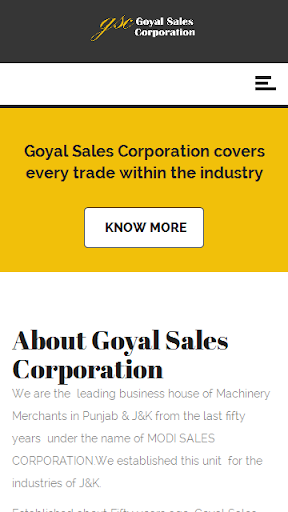 Goyal Sales Corporation