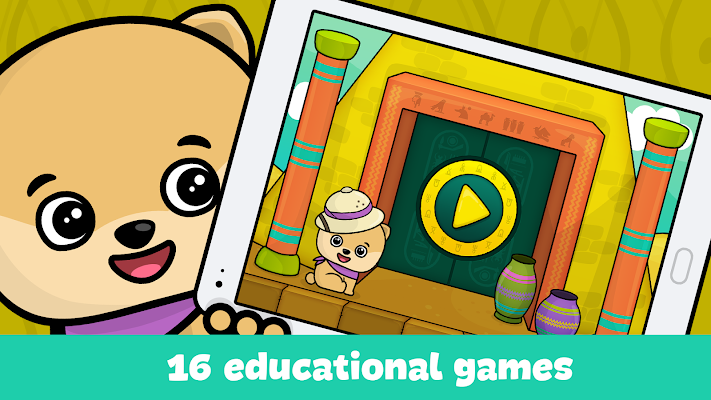 Baby adventure games - app for kids and toddlers - screenshot