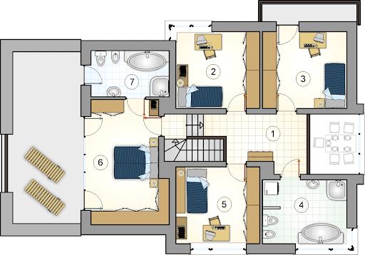 Cynamon II - Rzut piętra