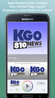 Screenshot of KGO-AM