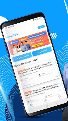 Oda Class: LIVE Learning App for Class 6-12 | JEE 2.7.0 screenshots 3