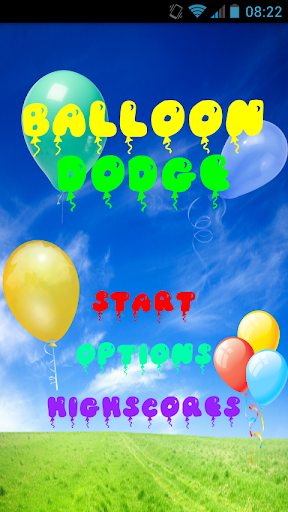 Balloon Dodge Game
