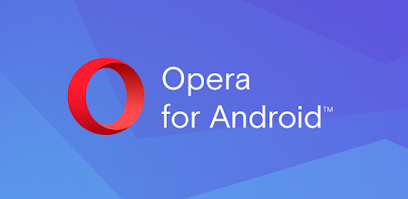 Opera with free VPN APK poster