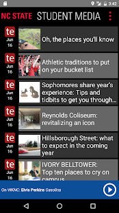 NCSU Student Media- screenshot thumbnail