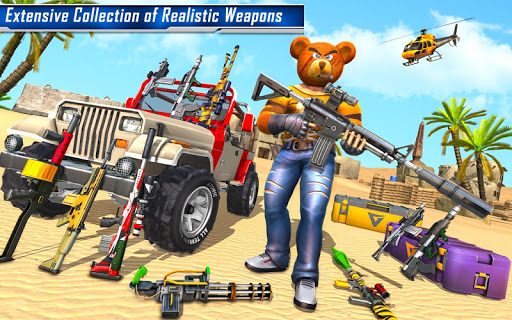 Teddy Bear Gun Strike Game: Counter Shooting Games apkmr screenshots 13