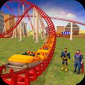 Superhero Sky high Roller Coaster Volcano Rush icon