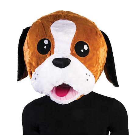 Maskothuvud, hund
