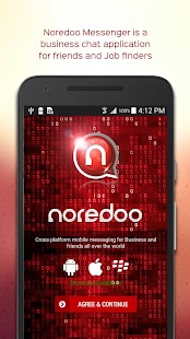 Noredoo Business Messenger - náhled