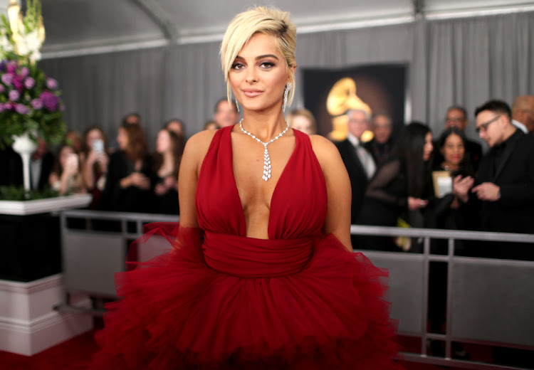 Bebe Rexha attends the 2019 Grammy Awards on February 10 2019 in Los Angeles, US.