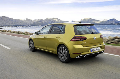 New LED tail lights dominate the rear.    Picture: VOLKSWAGEN