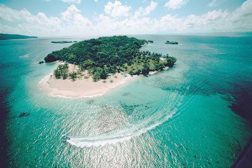 Dominican-Republic-Cayo-Levantado - Cayo Levantado is a small island near Samana in the Dominican Republic.
