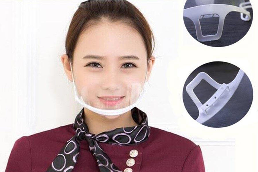 Khẩu trang nhựa che miệng có thực sự hiệu quả?