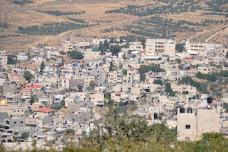 Photo: The nearby Palestinian village Nahalin