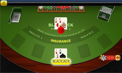 Blackjack 21 Offline Online - náhled
