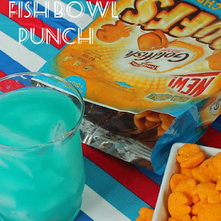 Fish Bowl Punch and Goldfish Puffs